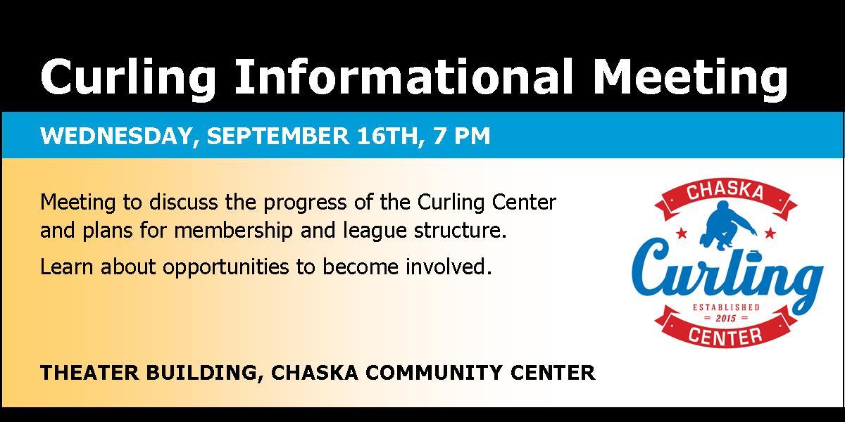 Chaska informational meeting.